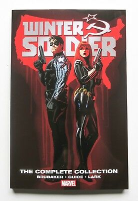Winter Soldier The Complete Collection NEW Marvel Graphic Novel Comic Book