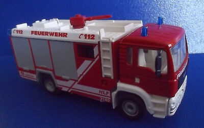 Siku Metall MAN Feuerwehr 4202 Made in W. Germany