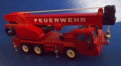Siku Metall Faun Feuerwehr 2914 Made in W. Germany