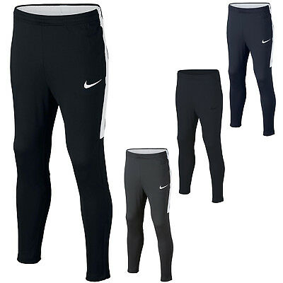 Nike Boys Pants Junior Football Training Tracksuit Bottoms Kids Size S M L XL