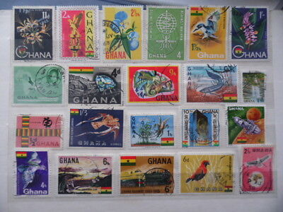 nickstampshop ~~ Ghana ~ Mixed Used ~ Lot 3