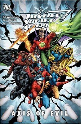 Brand New Factory Seal Justice Society of America Axis of Evil TPB Graphic Novel