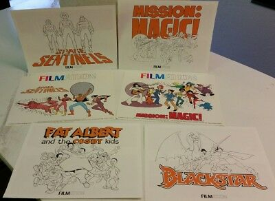Rare 1983 Filmation Promo Press Booklet Lot X 4 W/ 2 Ads !