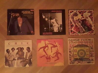 Funk Soul LP Paket Bootsy Collins,  George Clinton,  Chic, James Brown
