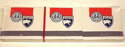 c.1970 Lincoln-Mercury Sports Matchbook Advertsing-Sealed Set of 6