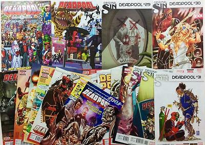 Deadpool #27 to #43 complete run (2014 Marvel) 17 x issues