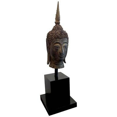 Southeast Asian Antique Buddha Head from Laos