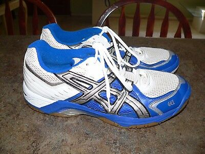 Asics Gel-Rocket Indoor Volleyball Squash Shoes Bn803 Mens Size 8.5