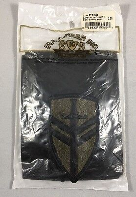 U.S. Army 2nd Support Brigade Command Subdued NOS Merrowed Edge Patches