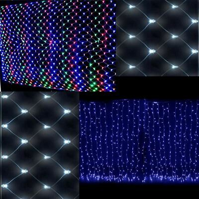 Safe Voltage 320LED Net Fairy Lights 3x 2m for Christmas Wedding Wateproof