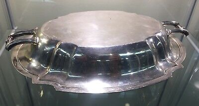 Elegant Solid Sterling Silver John Alden Covered Vegetable Dish 720 Grams 23 TOZ