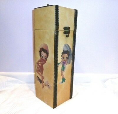 BETTY BOOP A RAMA Wine or Doll Storage Box Excellent Condition RARE