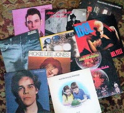 Lot of 4 Vinyl LPs - ROCK Classic Punk Metal Indie ++  Pick 4 from list of 100s!
