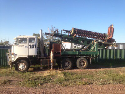Volvo truck G88 auger drilling rig opal prospecting 9inch drill prospect diesel