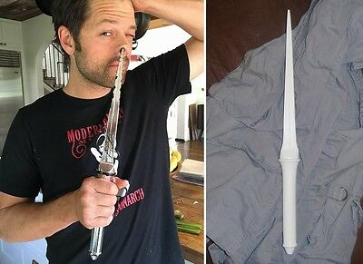 SALE Supernatural ANGEL BLADE Cosplay Castiel UNFINISHED Prop Replica Winchester