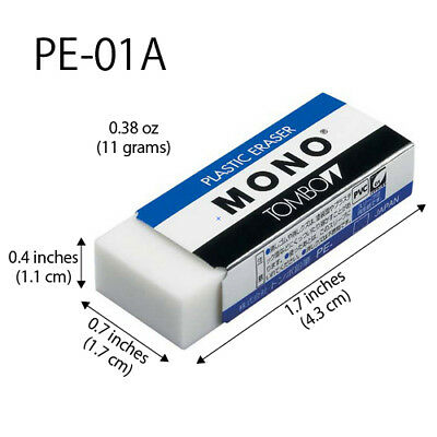 Tombow Mono High Quality Eraser Small (11 g) PE-01A Japan