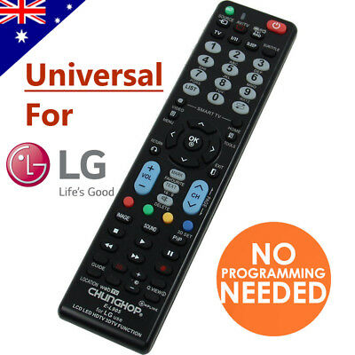 LG Smart TV Universal Remote Control NO PROGRAMMING For 3D HDTV LED LCD TV
