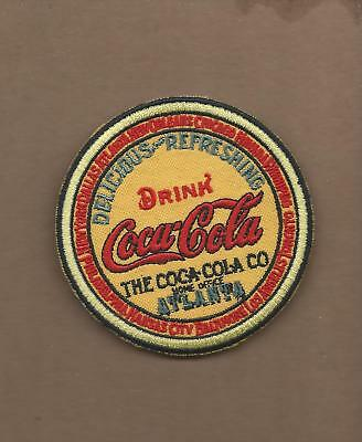 New 3 Inch Coca Cola Keg Iron On Patch Free Shipping Iron On Patch Free Ship A