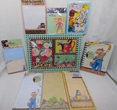 Mary Engelbreit Mixed Lot Note Pads Sticky Notes Journal Magnet Note Cards NIP