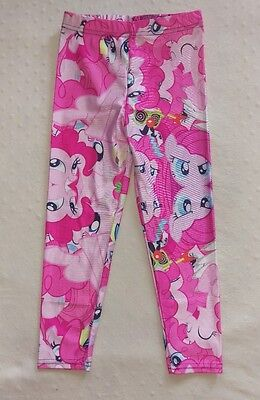 Girl's Large (approx 8) My Little Pony leggings Pinkie Pie Friendship Cartoon
