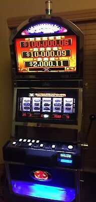 "BALLY ALPHA S9000 ""Diamond Devil"" FREE SPINs Slot Machine Progressive"