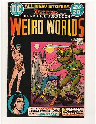 Edgar Rice Burroughs' Weird Worlds #1  John Carter Warlord of Mars & David Innes