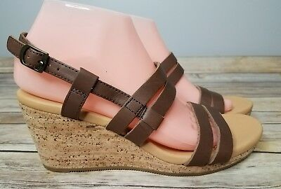 085380751c7c NEW WOMENS TEVA Peasant Size 8 All Brown Leather Sandals -  49.00 ...