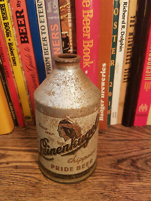 Leinenkugel's Chippewa Pride 12oz Cone Top Beer Can  Crowntainier