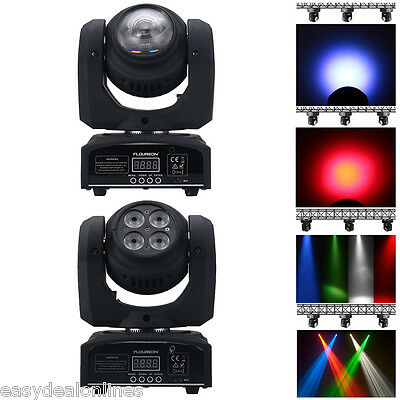 50W Cree LED Moving Head Double Face Led Beam/Wash Stage Light RGBW DMX512 DJ
