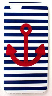IPhone 6/6s Case, YogaCase InTrends Back Protective Cover (Anchors Away Navy Sai
