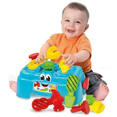 Baby Clementoni Work Bench, Infant Baby Interactive Activity Toy