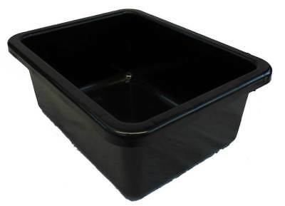 12 X 18L Plastic Storage Tubs Containers Strong Crate Bin Crates Box Boxes 18LT