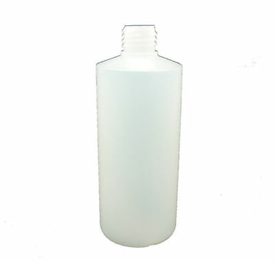 30 X 500ML Plastic Round Bottle & Screw Cap, Water Liquid Bottle Food Grade