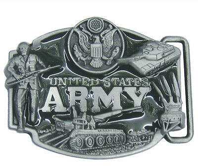 United States Army US Army Belt Buckle USA SHIPPER!