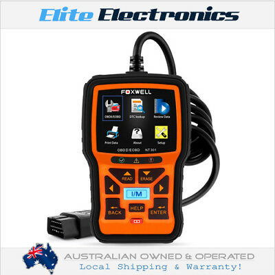 Foxwell Nt301 Pro Car Engine Diagnostic Scan Tool Obdii Eobd Obd2 Code Reader