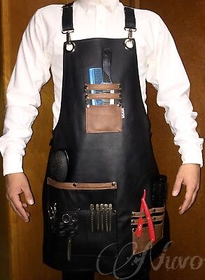 Leather Apron Hairstylist - Barber