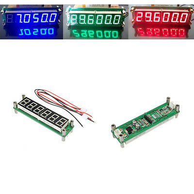 Digital 6LED 1MHz-1GHz RF Signal Frequency Counter Cymometer Red/Green/Blue