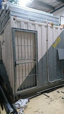 Shipping Container - AC site shed