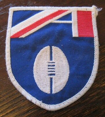 1990s AFL Shield Sew On Logo Patch Badge for Guernsey Jersey Jumper