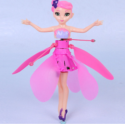 Cute Flying Fairy Magic Doll Infrared Induction Control Doll Girls' Gift Kawaii