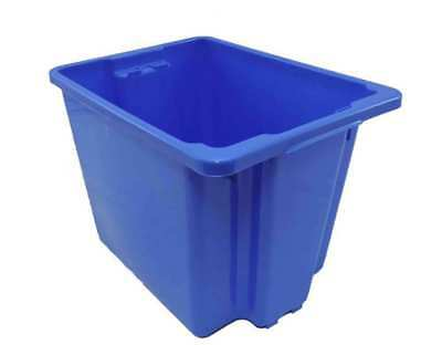 5 X 30L Plastic Storage Tubs Containers Strong Crate Bin Crates Box Boxes 30LT