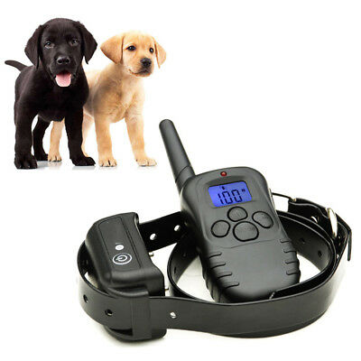 Waterproof Rechargeable LCD 100LV Electric Remote Dog Training Shock Collar  EB3
