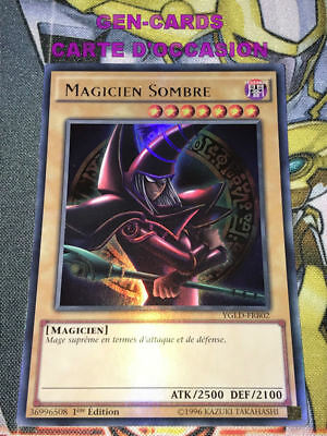 OCCASION Carte Yu Gi Oh MAGICIEN SOMBRE YGLD-FRB02 1ère édiiton