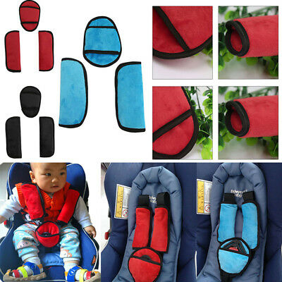 Baby Pushchair Pram Safety Car Seat Belt Strap Shoulder Pads Cover Harness Pad