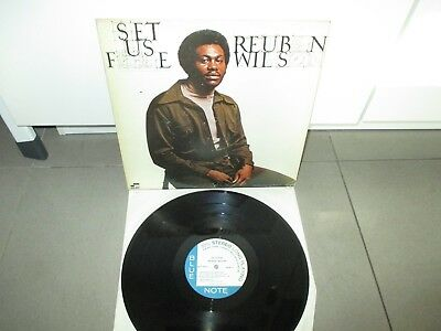 Reuben Wilson Set Us Free LP Blue Note BST-84377 MINT -