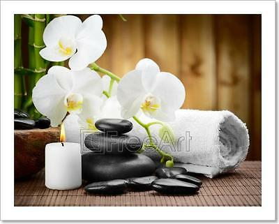 Spa Concept Art Print Home Decor Wall Art Poster - C