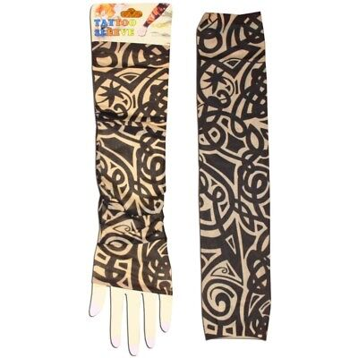 Lot de 2 manches Tatoo Tribal design 2 manchette manche tatouage tattoo tattou