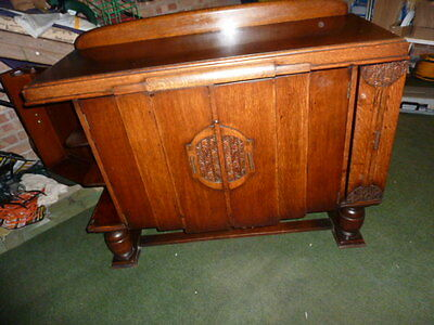 antique 1930s siideboard