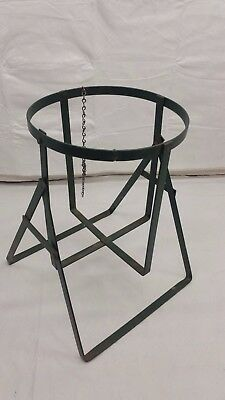 Vintage 5 Gallon Water Bottle Metal Stand