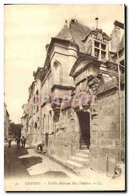 CPA Chinon Vieilles Maisons Rue Voltaire